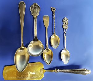 Konvolut Silberteile