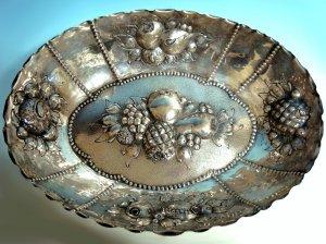 Ovale Schale 800er Silber