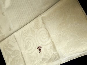 Satz von 4 Handtüchern Baumwolle