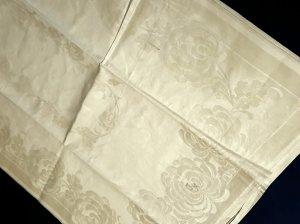 Leinen - Handtuch im floralen Dekor
