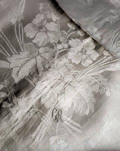 Großes Tafeltuch Leinendamast 550 x 170 cm