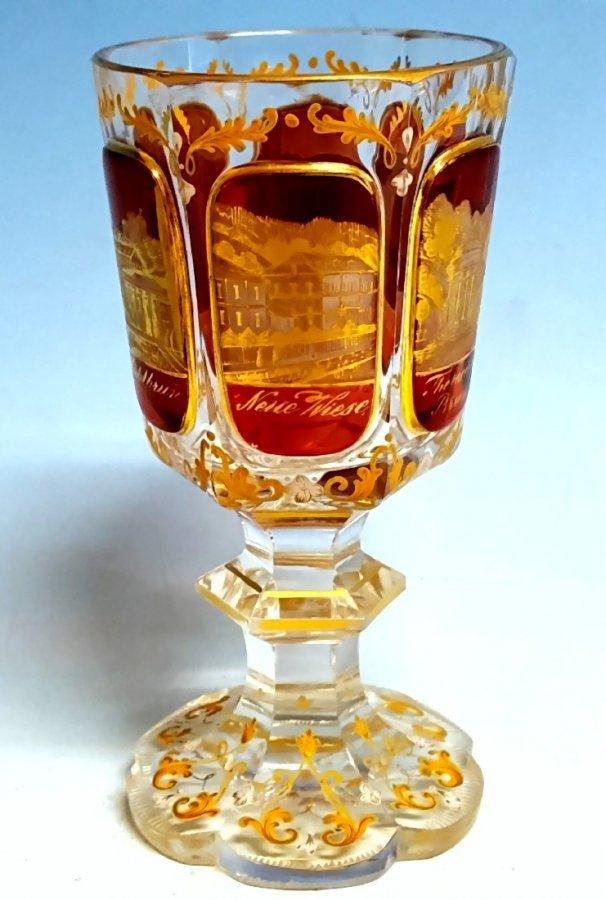 Pokalglas Böhmen