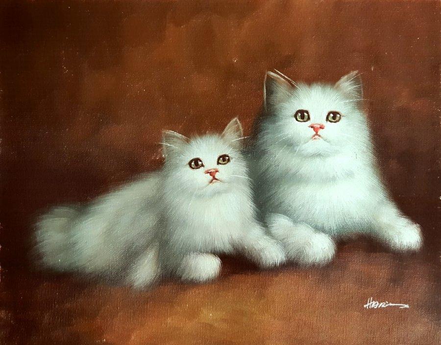 Katzenbildnis