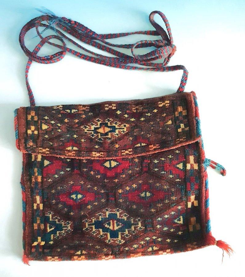 Turkmenische Satteltasche