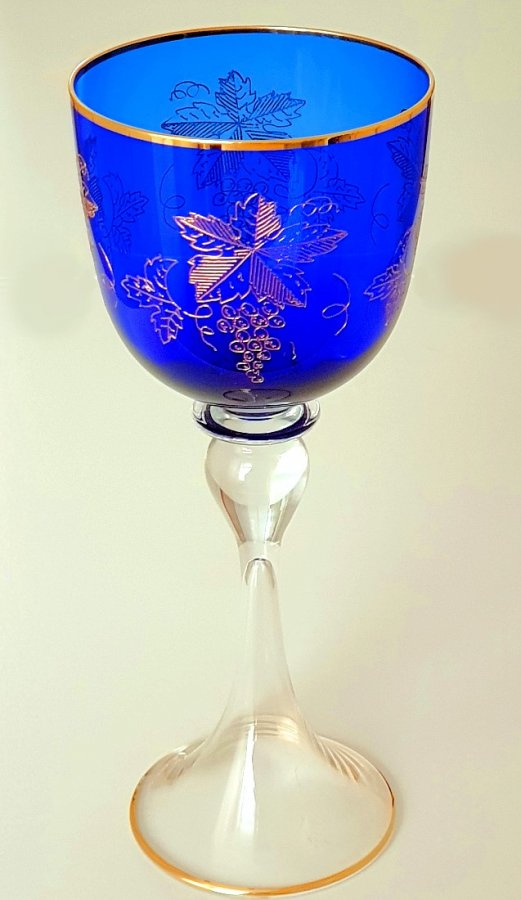 Weinglas Böhmen