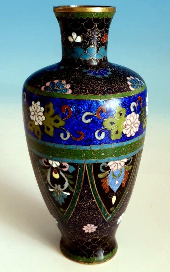 Cloisonné - Vase 19. Jhdt.