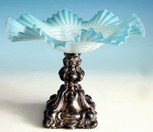 Tazza Silber 19.Jahrhundert