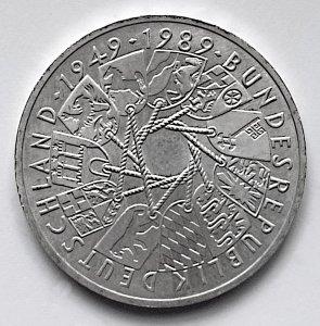 10 DM Gedenkmünze 40 Jahre Bundesrepublik Deutschland