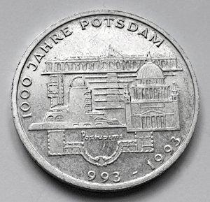 10 DM Gedenkmünze 1000 Jahre Potsdam