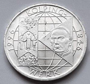 10 DM Gedenkmünze Adolph Kolping