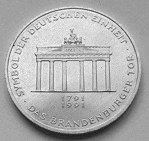 10 DM Gedenkmünze 200 Jahre Brandenburger Tor
