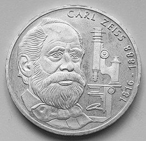 10 DM Gedenkmünze 100. Todestag Carl Zeiss