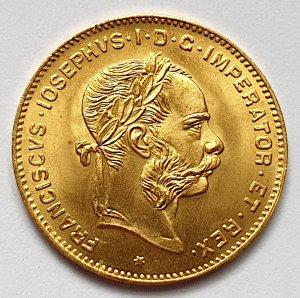Goldmünze Kaiser Franz-Joseph I.1892