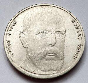 10 DM Gedenkmünze Robert Koch