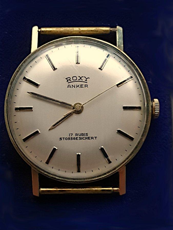 Herren-Armbanduhr Roxy Anker Gold