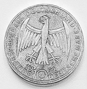 10 DM Gedenk-Münzen